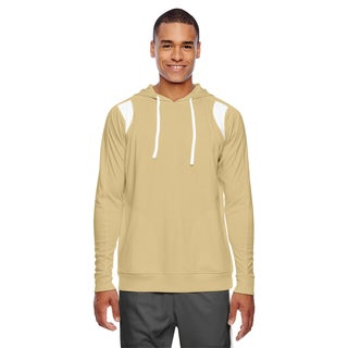 Elite Men's Big and Tall Sport Vegas Gld/White Performance Hoodie
