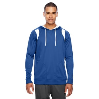 Elite Men's Big and Tall Sport Royal/White Performance Hoodie