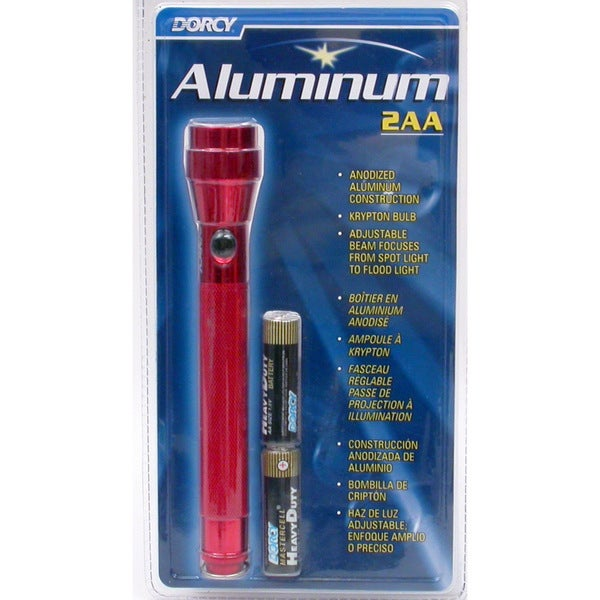 Dorcy 41-4016 2 AA Cell Aluminum Flashlight