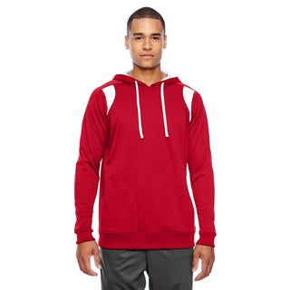 Elite Men's Big and Tall Sport Red/White Performance Hoodie