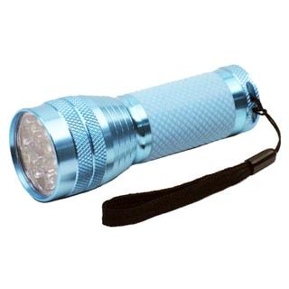 Dorcy 41-4254 Blue LED Flashlight With Optic Lens