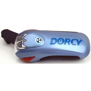 Dorcy  Dynamo  7.7 lumens Rechargeable Flashlight  LED  LIR2032  Silver