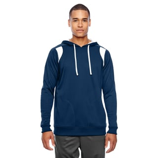 Elite Men's Big and Tall Sport Dark Navy/White Performance Hoodie
