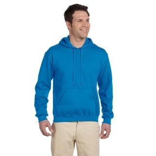 Men's Ringspun Sapphire Hooded Sweatshirt (XL)