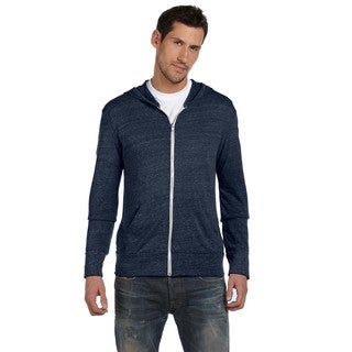Eco Men's Big and Tall Eco Tr Navy Long-Sleeve Zip Hoodie