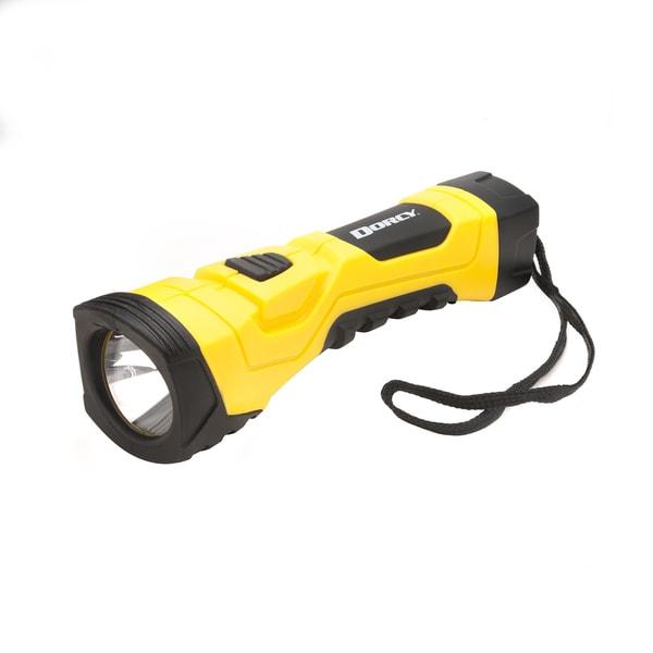 Dorcy 41-4750 Yellow 190 Lumen LED Cyber LIght Flashlight