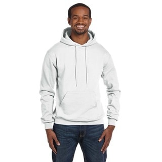 Men's Big and Tall White Sweatshirt