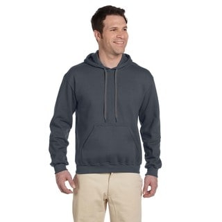 Men's Ringspun Hooded Charcoal Sweatshirt (XL)