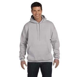 Men's Big and Tall Ultimate Cotton 90/10 Light Steel Pullover Hood
