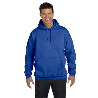 Men's Big and Tall Ultimate Cotton 90/10 Deep Royal Pullover Hood