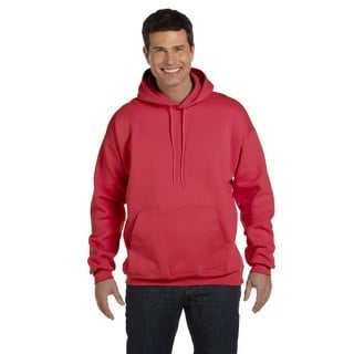 Men's Big and Tall Ultimate Cotton 90/10 Deep Red Pullover Hood