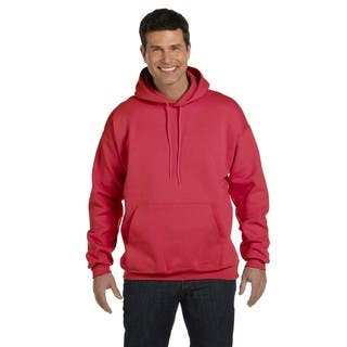 Men's Big and Tall Ultimate Cotton 90/10 Deep Red Pullover Hood|https://ak1.ostkcdn.com/images/products/12397295/P19218253.jpg?impolicy=medium