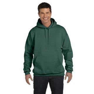 Men's Big and Tall Ultimate Cotton 90/10 Deep Forest Pullover Hood
