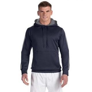 Men's Colorblock Navy/Stone Grey Pullover Hood