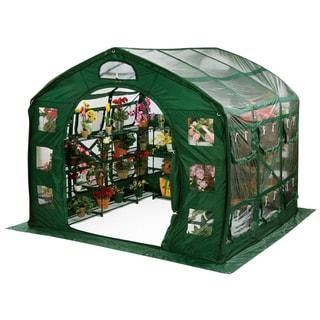 Flowerhouse FHFH700CL 9-feet X 9-feet X 8-feet FarmHouse Clear