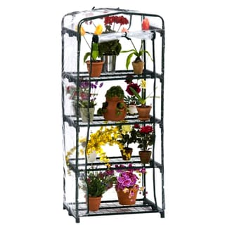 Flowerhouse FHPT401SC 63-inch X 27-inch X 19-inch 4 Shelf Plant Tower