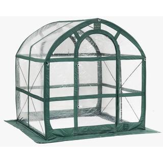 Flowerhouse FHSP300CL 78-inch X 72-inch X 72-inch SpringHouse