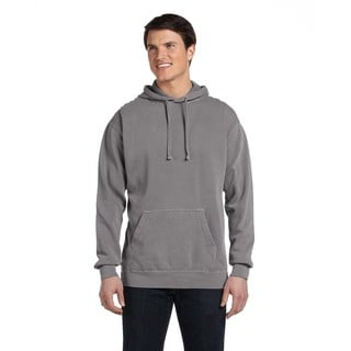 Men's Big and Tall Grey Garment-Dyed Pullover Hood