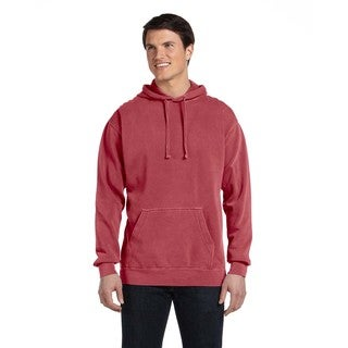 Men's Big and Tall Crimson Garment-Dyed Pullover Hood
