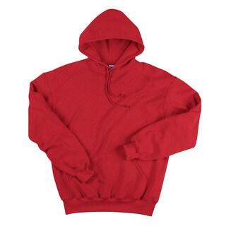 Men's Hooded Red Fleece (XS,XL)