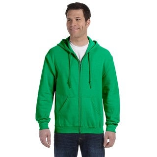 50/50 Men's Big and Tall Full-Zip Irish Green Hooded Jacket