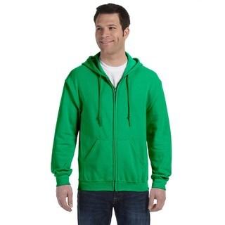 50/50 Men's Big and Tall Full-Zip Irish Green Hooded Jacket