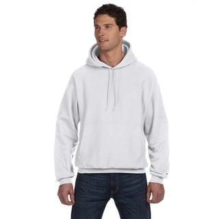 Reverse Weave Men's Silver Grey Pullover Hood (XL)
