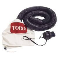 Toro 51502 White Leaf Collection Blower Vacuum Kit