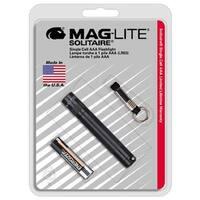 Maglite  Solitaire  2 lumens Flashlight  Incandescent  AAA  Black