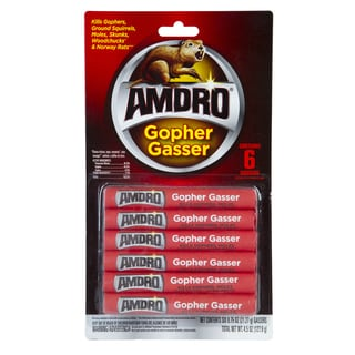 Amdro 100508233 4.5-ounce Gopher Gasser 6-count