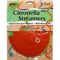 PIC CPS-4 Citronella Infused Streamers 4-count