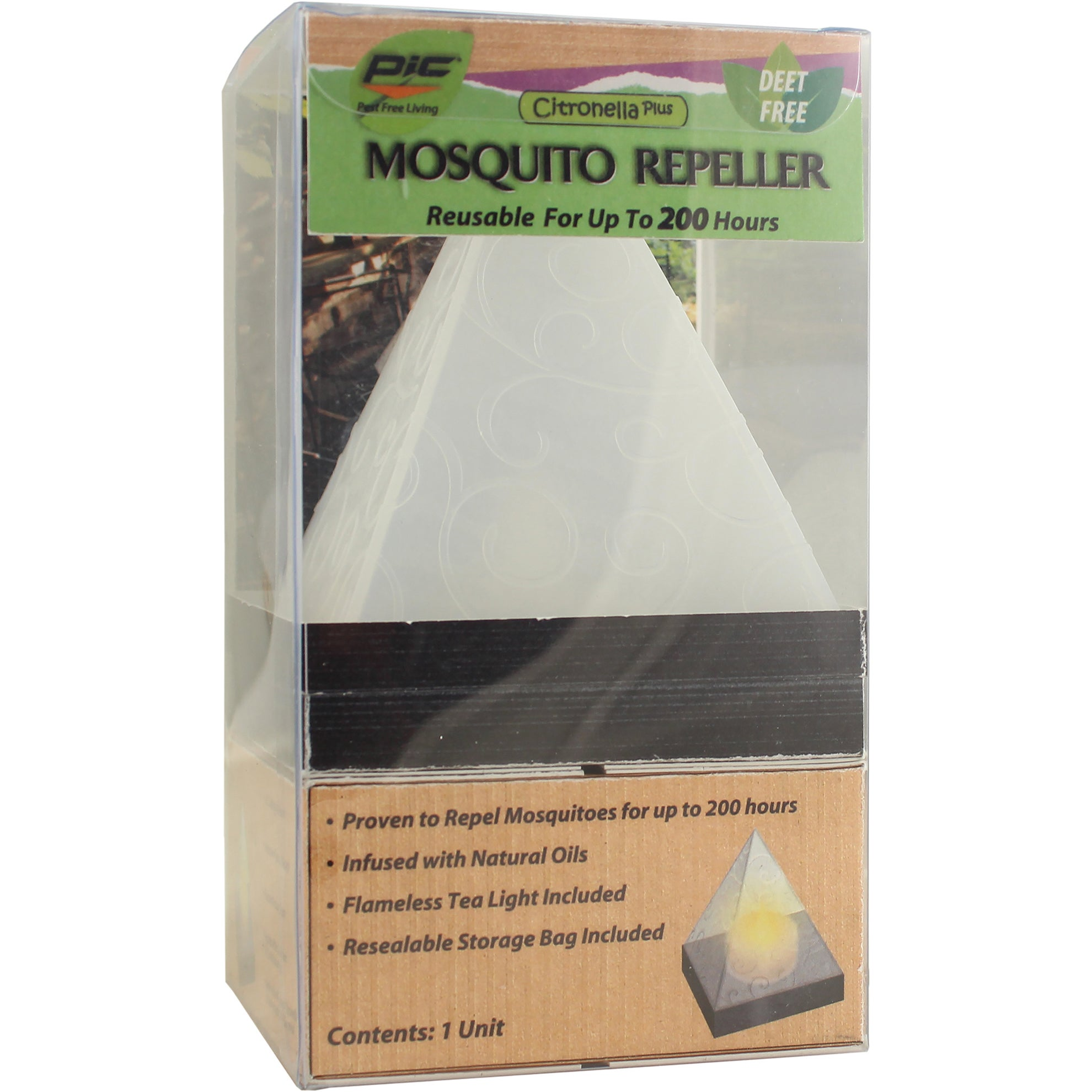 PIC PYR Pyramid Shape Mosquito Repel (Yard & Garden Pest ...