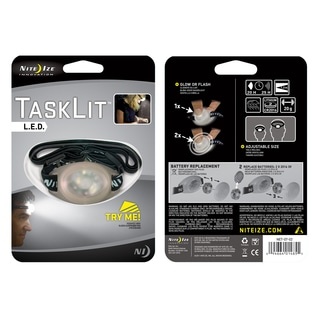 Nite Ize NET-07-02 White TaskLit LED Headlamp