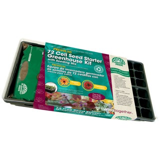 Planters Pride RZA08090 72 Cell Seed Starter Greenhouse Kit