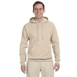 Men's Big and Tall 50/50 Nublend Fleece Sandstone Pullover Hood