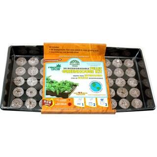 Planters Pride RZG00501 50 Fiber Grow Pellets Greenhouse Kit