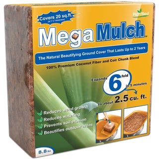 Planters Pride RZP30561 8.8-pounds Mega Mulch