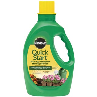 Miracle Gro 1005562 48-ounce Quick Start Planting & Transplant Starting Solution
