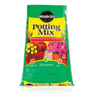 Miracle Gro 75652300 2 Cu Ft Miracle-Gro Potting Mix 0.21-0.11-0.16