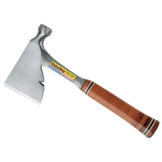 "Estwing E2H 13"" Carpenter's Hatchet With Leather Grip"