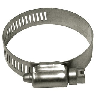 Plumb Craft Waxman 0167630 1-13/16-inch x 2-3/4-inch Stainless Steel Hose Clamp