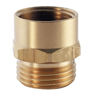 Plumb Craft Waxman 7410200N 3/4-inch Brass Hose To Pipe Adapter