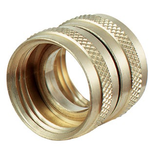 Plumb Craft Waxman 7411300N 3/4-inch X 3/4-inch Brass Swivel Hose Connector