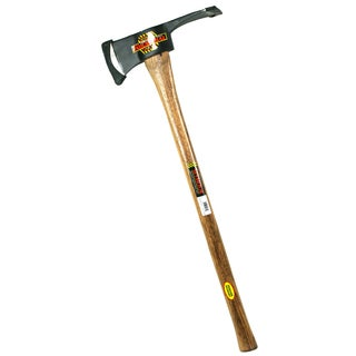 "Seymour AX-P3 41549 36"" 3.5 Lb Pulaski Axe With Hickory Handle"