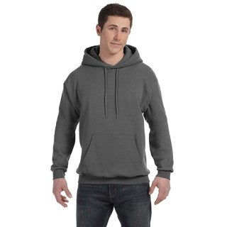 Men's Big and Tall Comfortblend Ecosmart 50/50 Pullover Smoke Grey Hooded Jacket