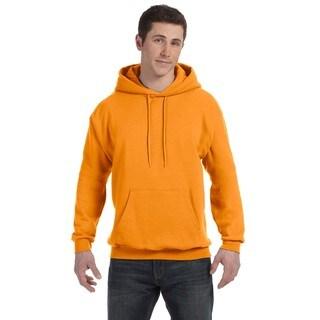 Men's Big and Tall Comfortblend Ecosmart 50/50 Pullover Safety Orange Hooded Jacket