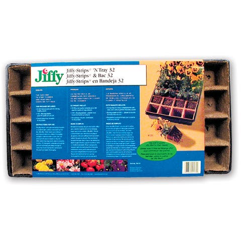 Jiffy TS32 Jiffy Strips -footN Tray