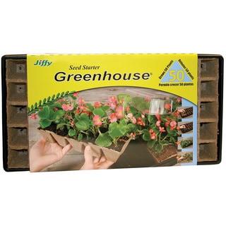 Jiffy TS50H 21.5-inch x 11.3-inch x 3.3-inch Seed Starter Greenhouse