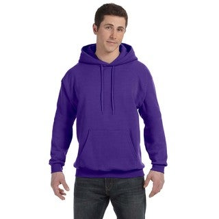 Men's Big and Tall Comfortblend Ecosmart 50/50 Pullover Purple Hooded Jacket