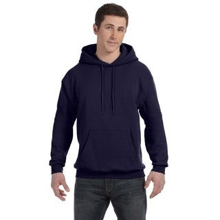 Men's Big and Tall Comfortblend Ecosmart 50/50 Pullover Navy Hooded Jacket
